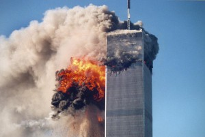 Twin Towers op 9/11