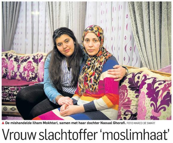 Vrouw Slachtoffer Moslimhaat